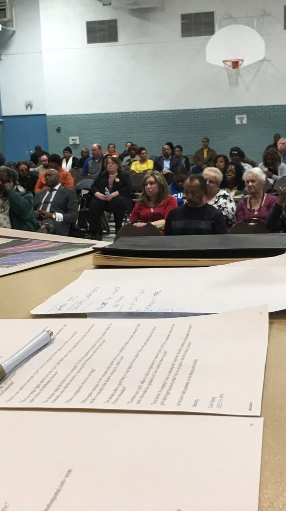 WSJ Debate:  Candidates talk about villages' needs