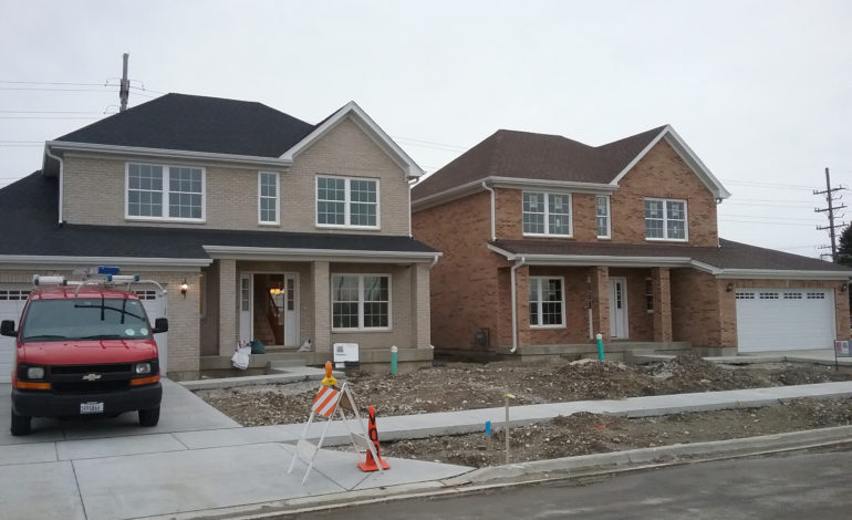 Village builds, sells homes