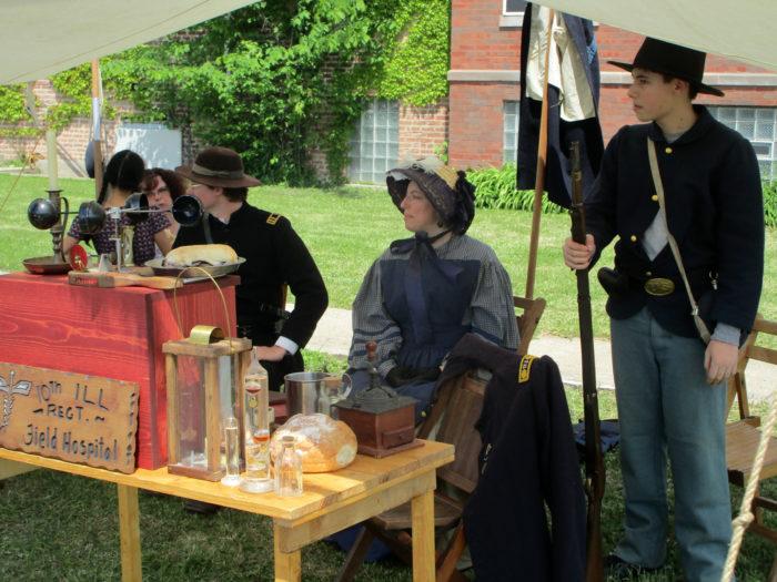 Civil War era comes alive in Maywood