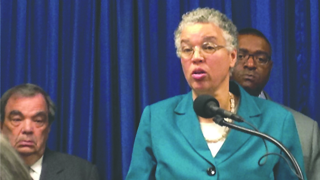 Preckwinkle 'disappointed' with Rauner on health care bill