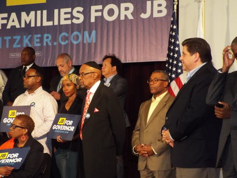 Interfaith Inc. hosts J.B. Pritzker at the August Meet the Candidate Forum