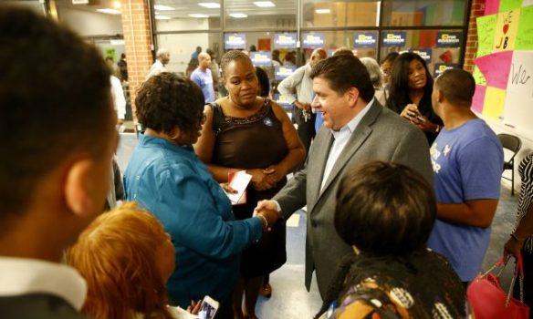 JB Pritzker's state-wide grassroots campaign adds two offices; Joliet, Roseland