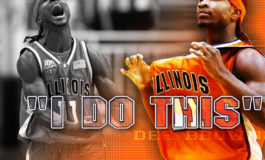 Newly named Illini Assistant Coach, Dee Brown, returns home to talk with local youth