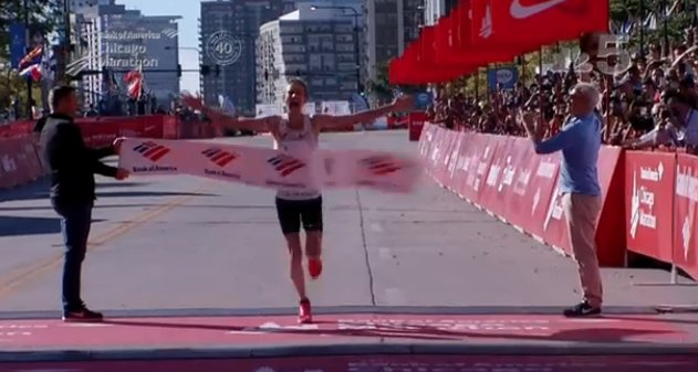 World class runner with Maywood roots wins Chicago Marathon