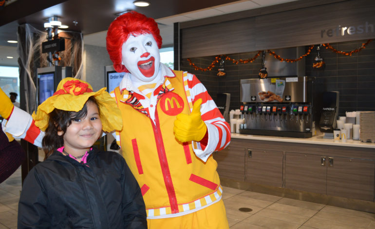 A magical afternoon at Bellwood McDonald's