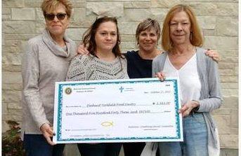 Elmhurst Church Raises Funds for Food Pantry serving Berkeley, Hillside