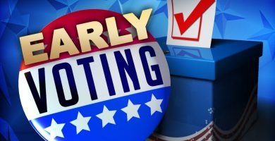 Early Voting for Gubernatorial Election begins Today