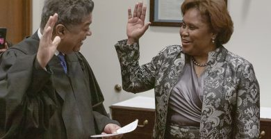 Yarbrough becomes first woman, African-American Cook County Clerk New Clerk begins term after Monday morning swearing-in
