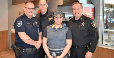 Westchester Based Bear Family McDonald's hosts the Westchester Police in their first 'Cocoa With A Cop' event