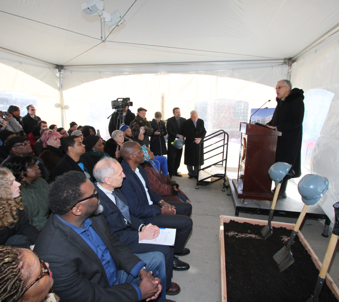 Cheap Apartments Near Journal Square: Cook County Officials And Local Partners Break Ground At