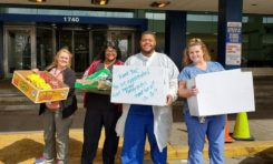 Local bakery donates meals to hospital workers