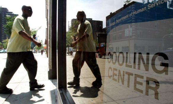 Cook County Opens Cooling Centers During Extreme Heat