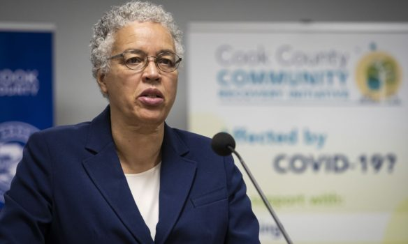 Cook County Board President Toni Preckwinkle announces $7 Million to expand COVID-19 Recovery Resident Cash Assistance Program